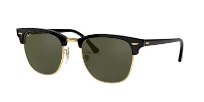 Ray-Ban Clubmaster Black On Arista