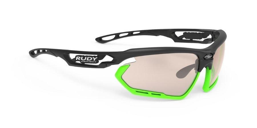 Rudy Project Fotonyk Black Matte - ImpactX Photochromic 2 Laser Brown