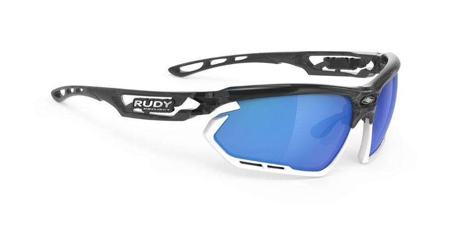 Rudy Project Fotonyk Crystal Graphite - RP Optics Multilaser Blue