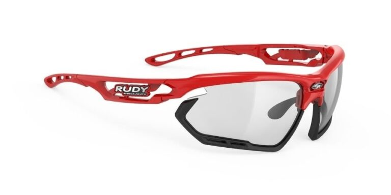 Rudy Project Fotonyk Fire Red Gloss - ImpactX Photochromic 2 Black