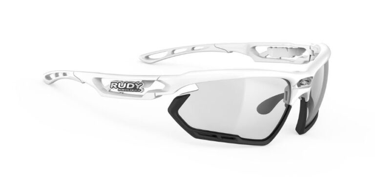 Rudy Project Fotonyk White Gloss - ImpactX Photochromic 2 Black