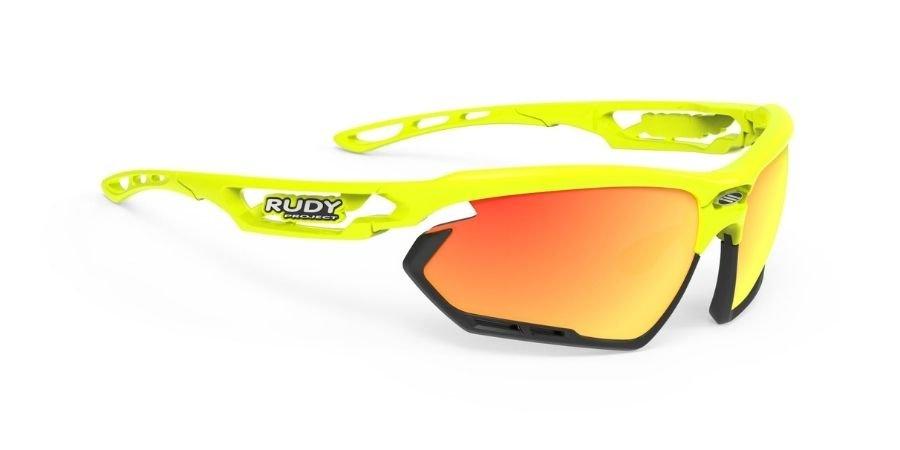 Rudy Project Fotonyk Yellow Fluo Gloss - RP Optics Multilaser Orange