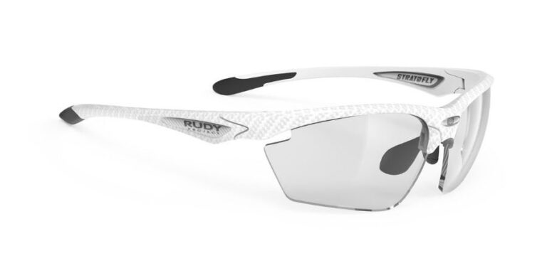 Rudy Project Stratofly White Carbon - ImpactX Photochromic 2 Black