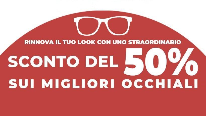 occhiali scontati ottica lux